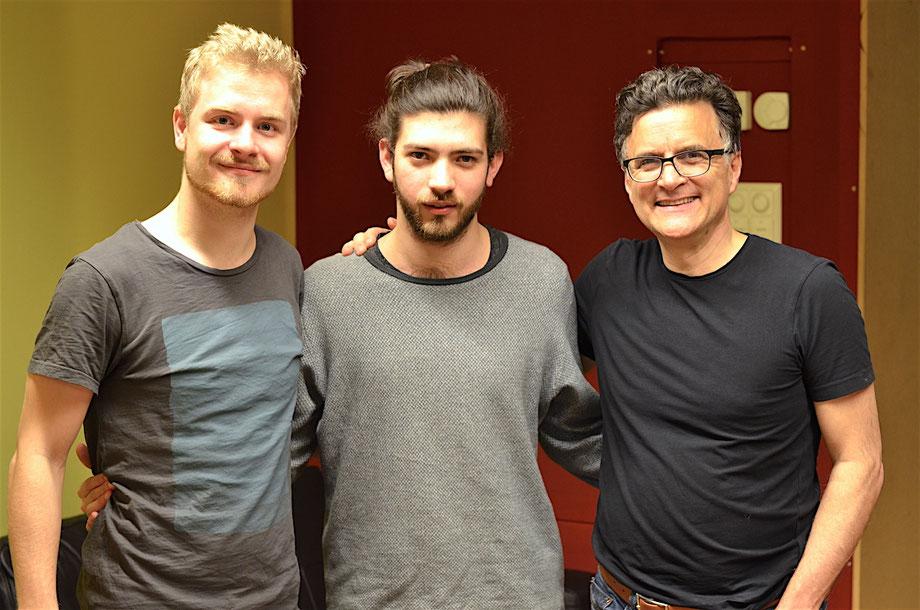 Florian Weiss, Sascha Frischknecht und Heiri Känzig