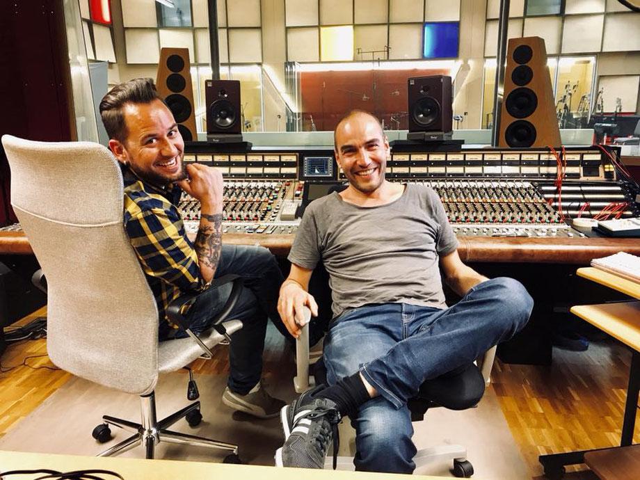 Marc Trauffer ist wiedermal bei Gabriel Recording Tonstudio