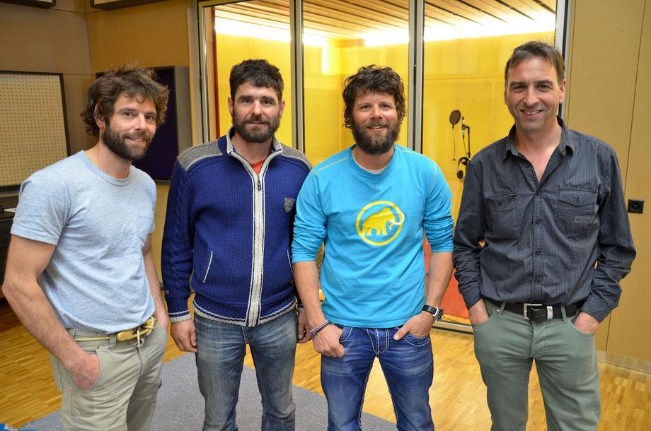 Thomy Scherrer, Luzi Scherrer, Andres Scherrer, Martin Tomaschett