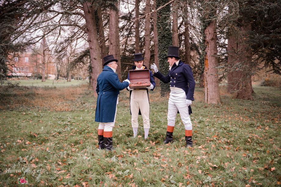 location confection sur mesure  costumes historique homme regency premier empire