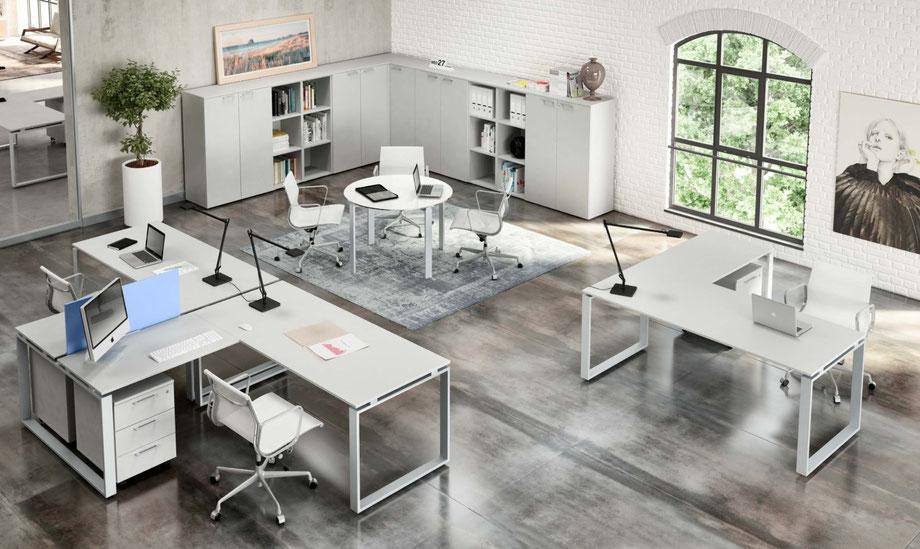 Scrivanie Ufficio Novara : Arredamento ufficio novara progettazione e realizzazione
