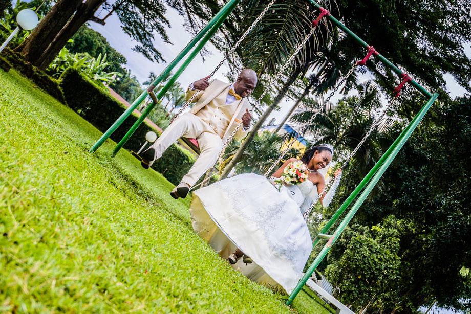 couple shoot wedding