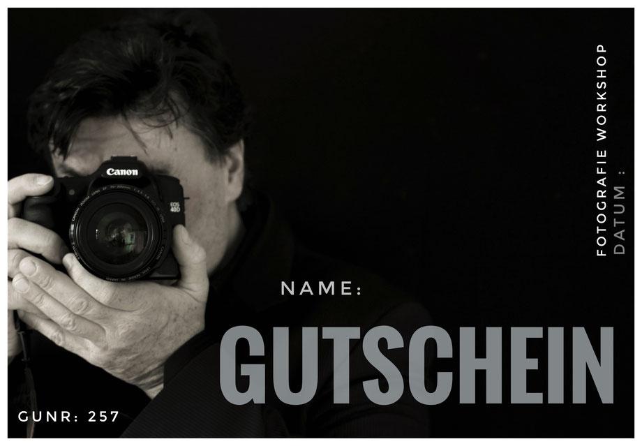 Gutscheine für Fotografie Workshop