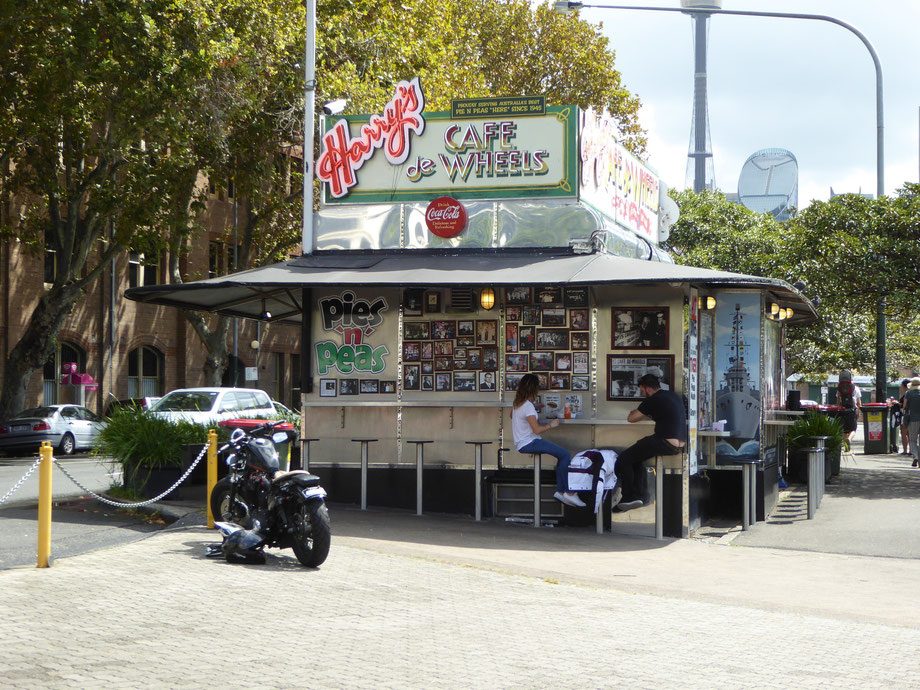 Harry's Café de Wheels in Sydney