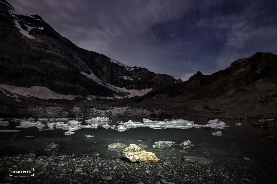 """Gletschersee """"Im Griess"""", Klausenpass, Clariden"""