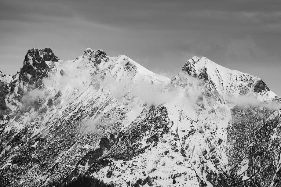 Atemberaubendes Bergpanorama