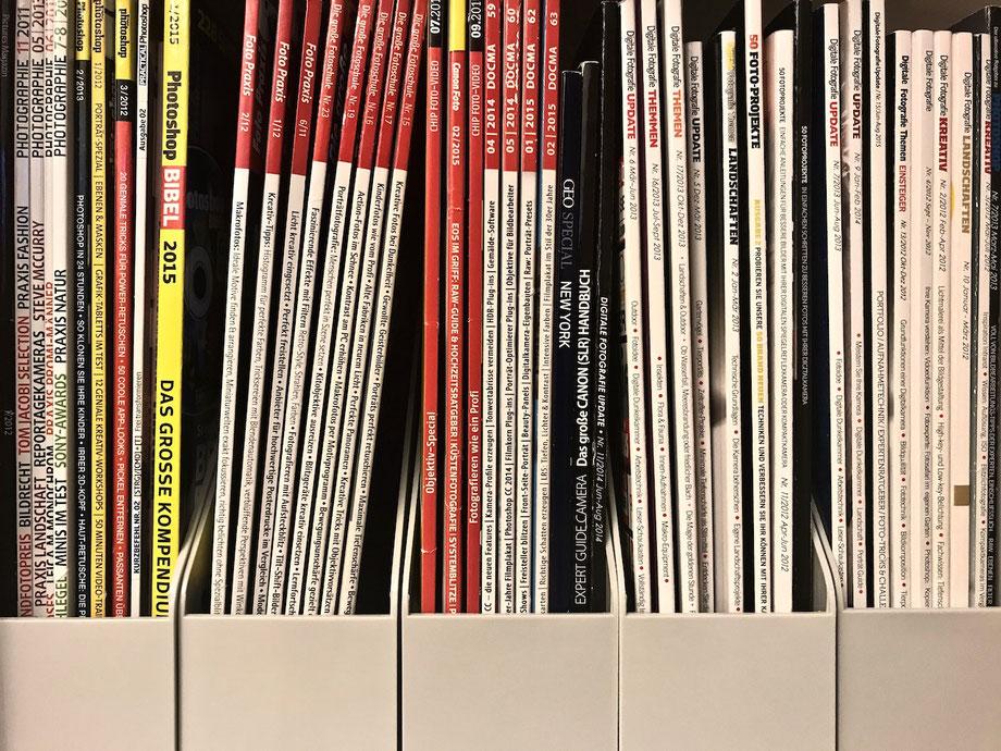 Magazine Hefte Buch Fotografie