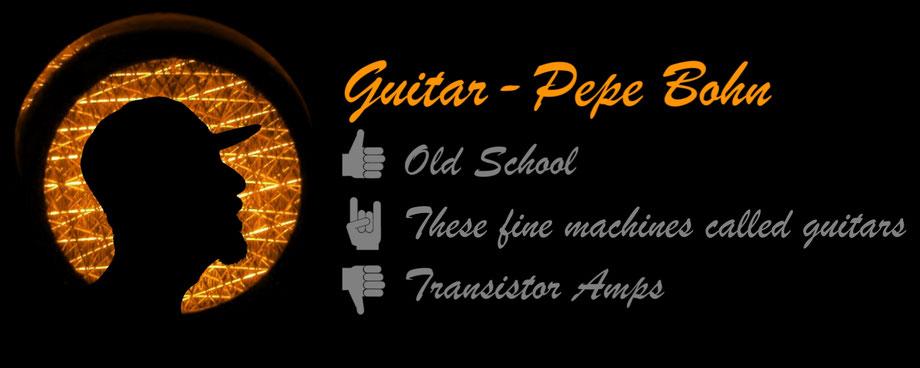 DEEZL, Guitar: Pepe Bohn