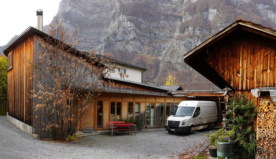 Bühlhof 11a und b. Koordinaten 722925 213910. Aufnahmedatum 8. Nov. 2020