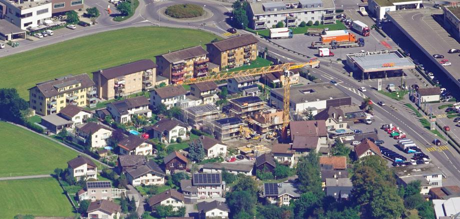 Klausen, Hinterbühl. Aufnahme vom 9.9.2020