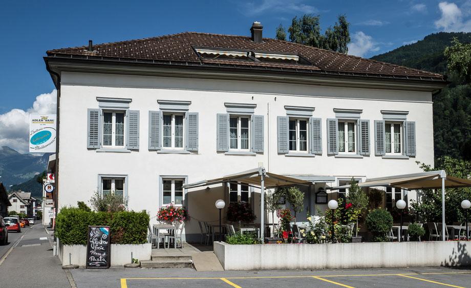 Kreuzbühlstrasse 2, Koordinaten 722648 213431