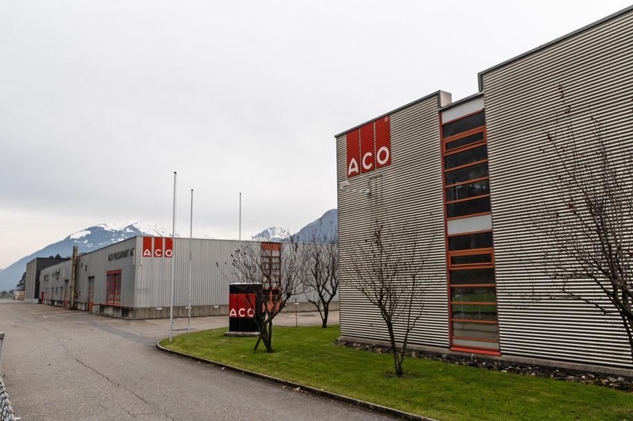 ACO mit Erweiterungsbau im Norden. Aufnahme vom 1. Dezember 2019