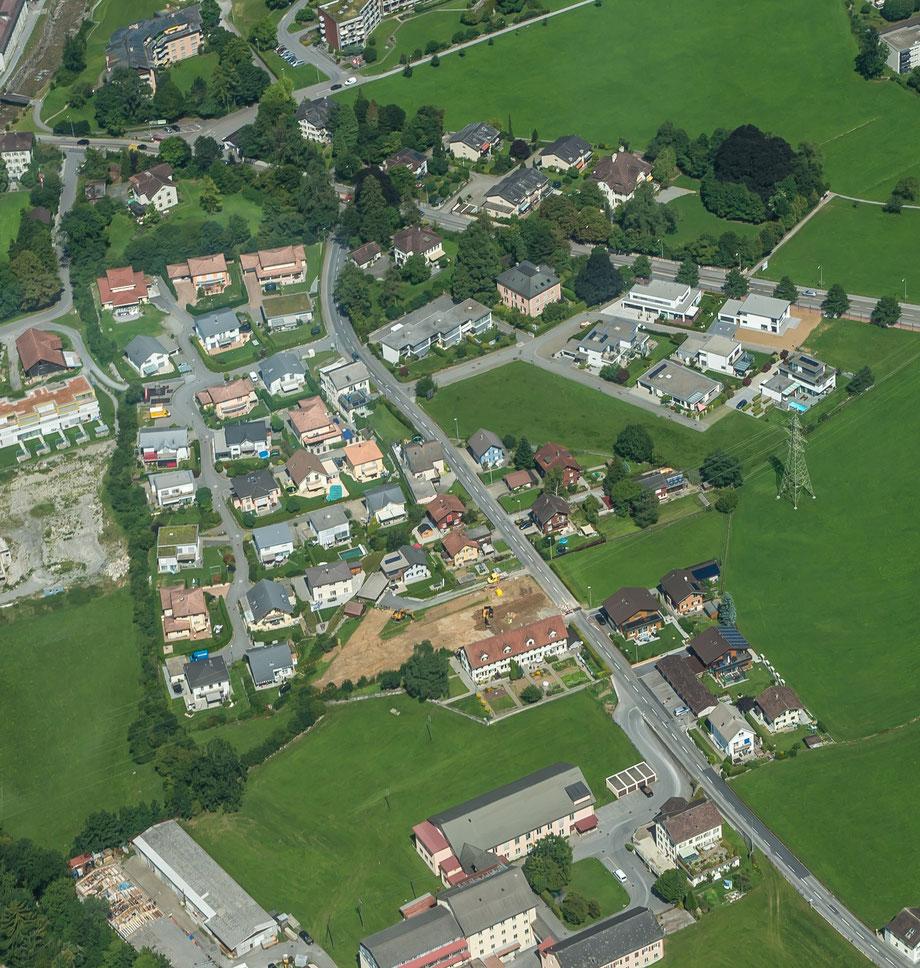 Fuchsgut und Lerchengut, Aufnahme vom August 2015