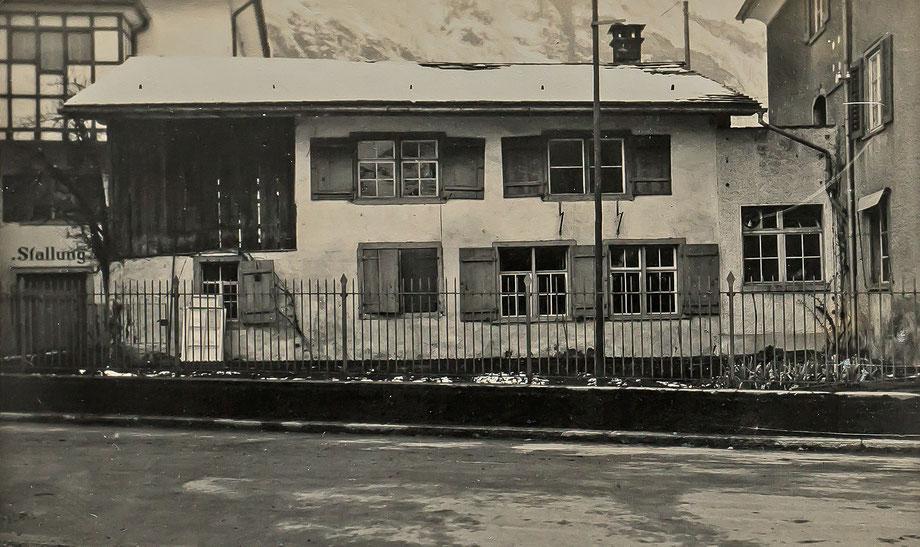 Elternhaus von Johannes Weber