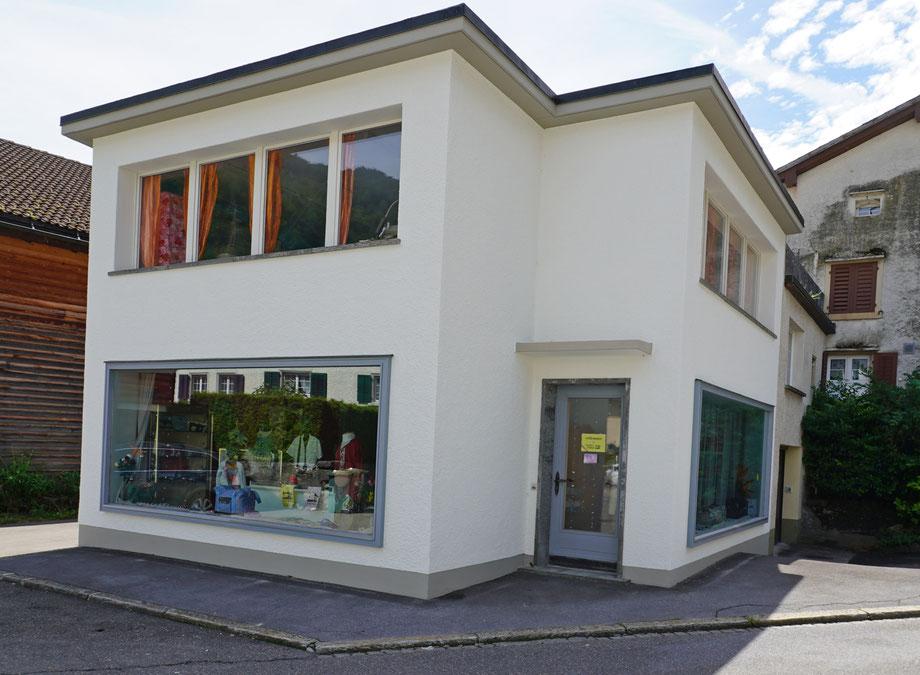 Molliserstrasse 16a Koordinaten 722963 213846. Aufnahme vom 19. August 2020