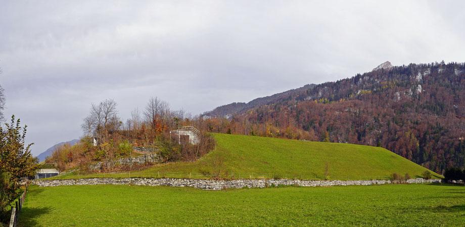 Bürglen: Eingänge zur Zivilschutzanlage. Aufnahme 8. Nov. 2020