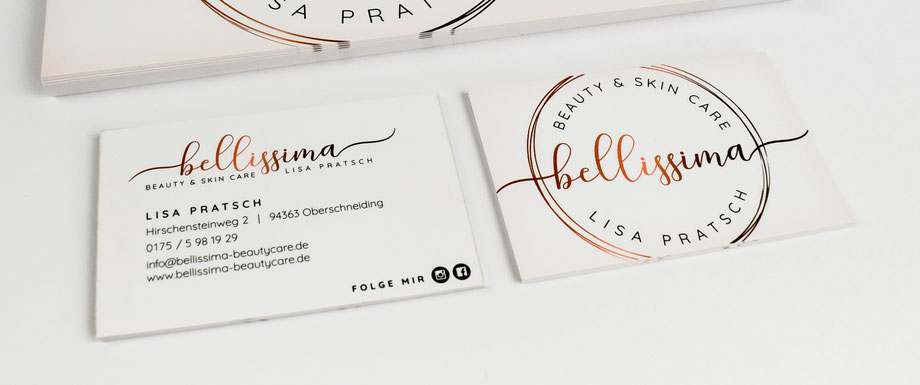 Visitenkarten Logogestaltung Grafikdesign Straubing Werbeagentur