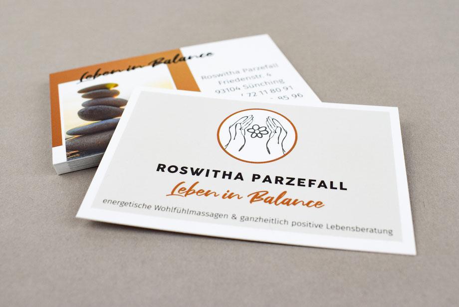 Werbemittel Visitenkarten Grafikdesign Straubing Werbeagentur
