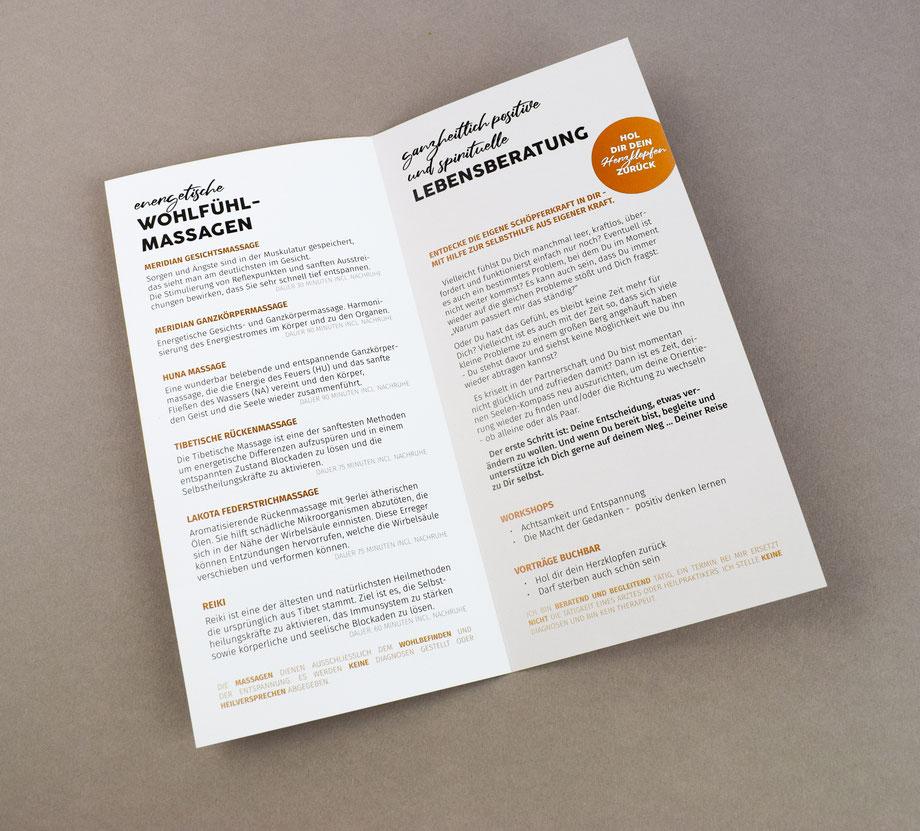 Flyer Broschüre Werbemittel Grafikdesign Straubing Werbeagentur