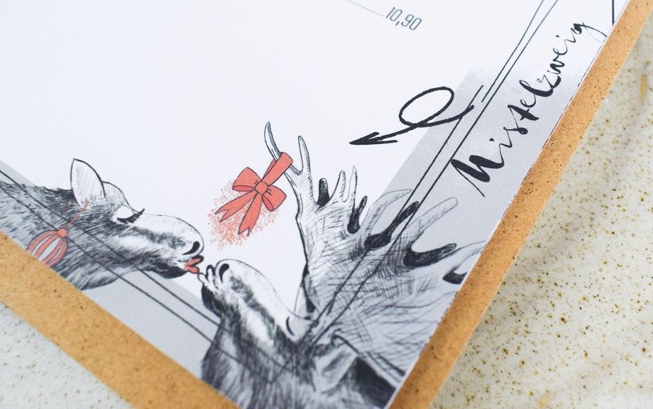 Illustration Grafik Grafikdesign Speisekarte Straubing Werbeagentur