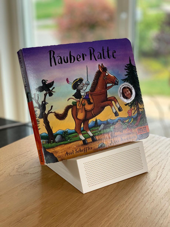 Das Buch Räuber Ratte von Kinder vorgelesen und zum Anhören mit der Huhubox