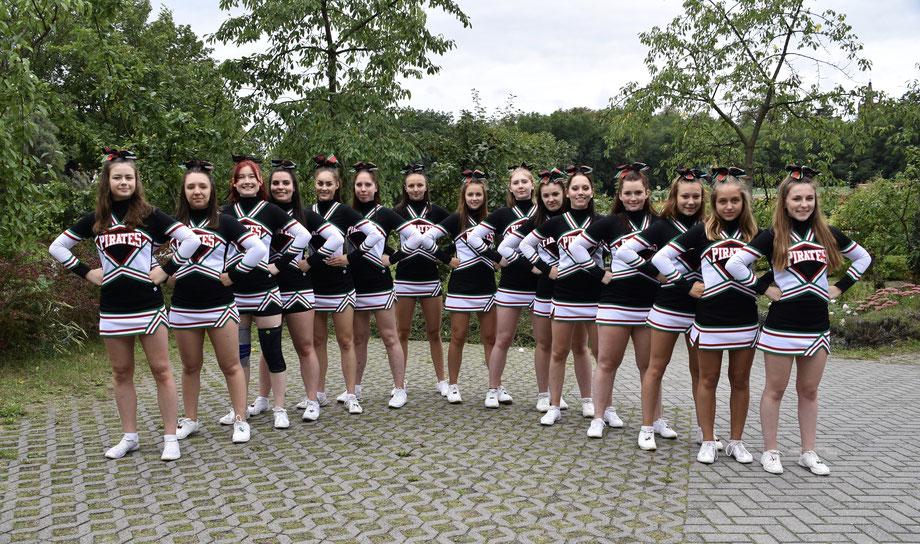 Pirates Cheerleader aus Werder