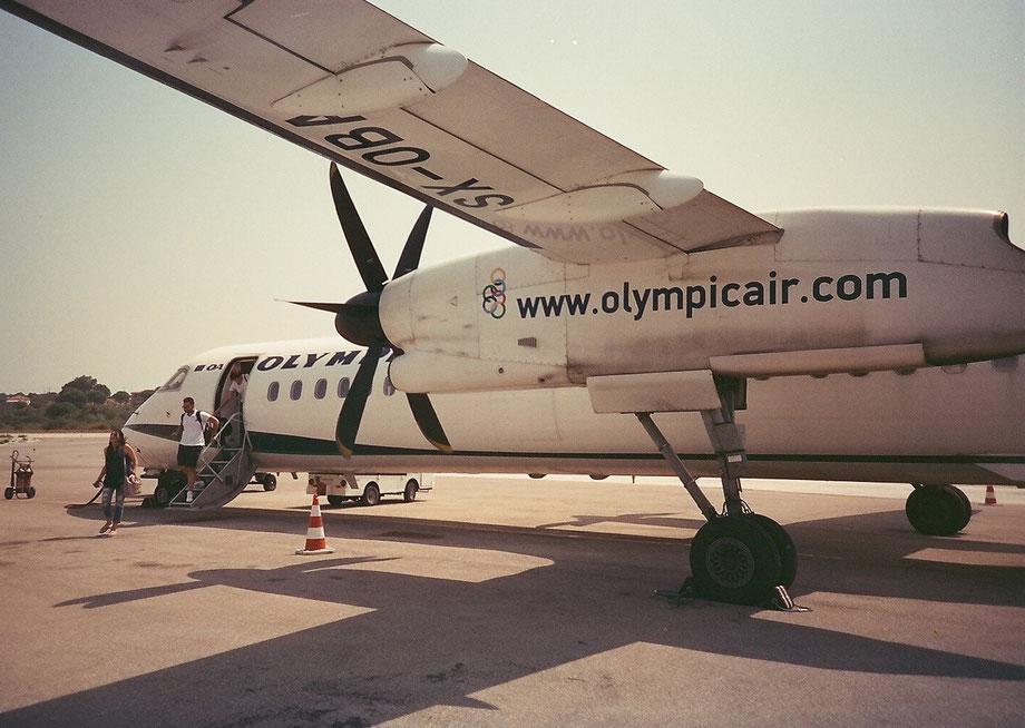 Skiathos Airport, Greece