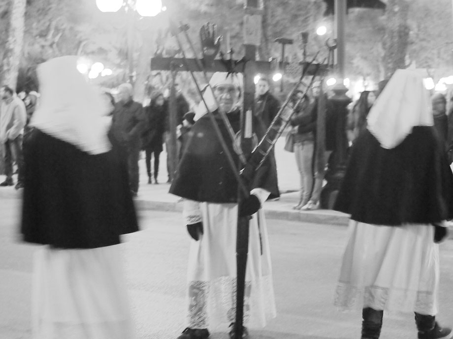 Grottaglie (Taranto), Italy. Processione del Sacri Misteri. Easter 2015 (with Olympus PEN EPM1 and Vivitar Lens 35-105 OM System adapted)
