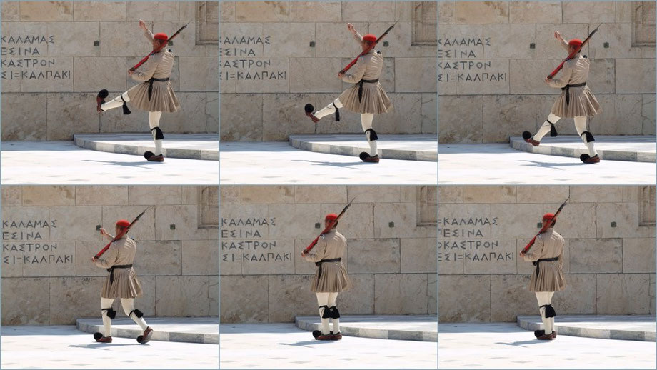 Changing of the Guard, Athens 2014