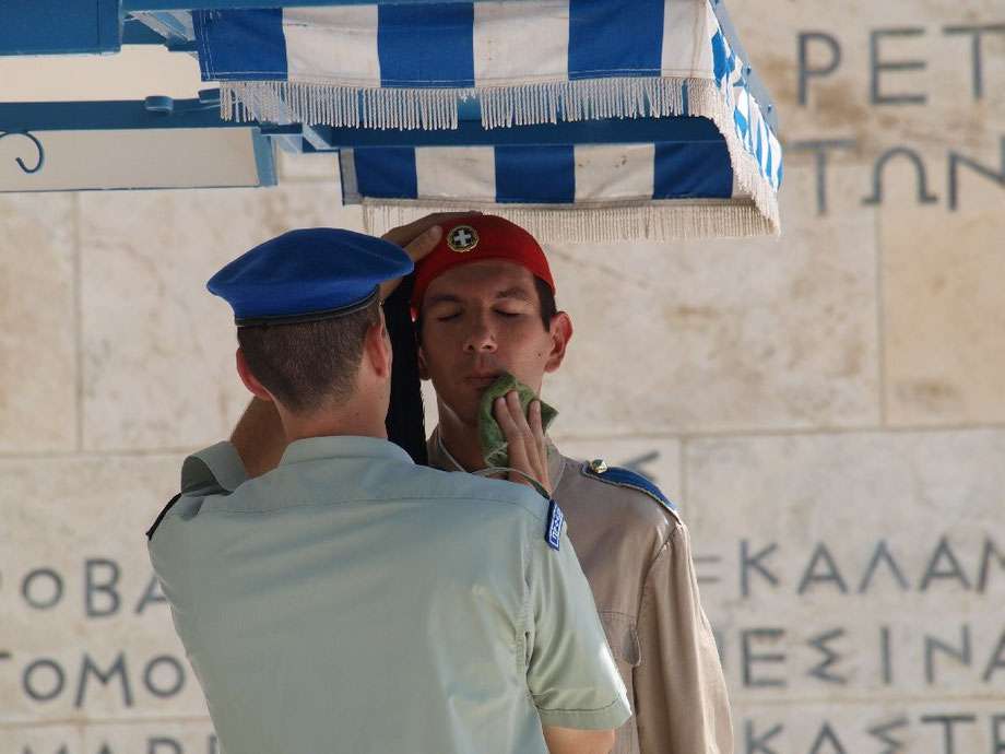 Changing of the Guard, August 2014