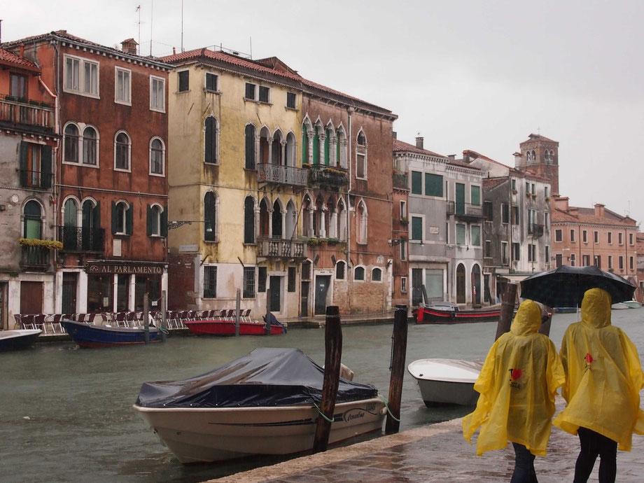 Rain in Cannaregio, Venice II