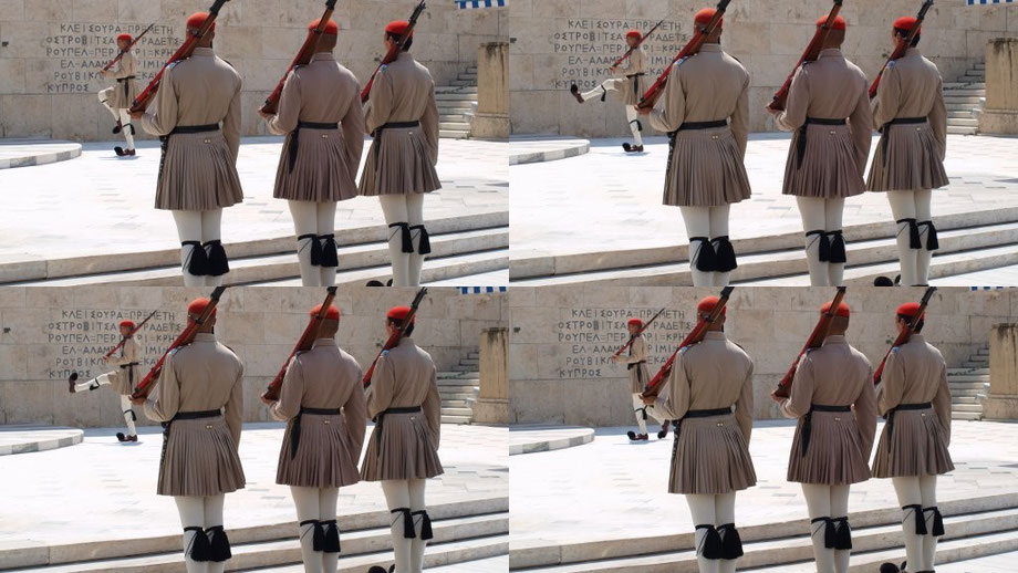 Changing of the Guard II, Athens 2014