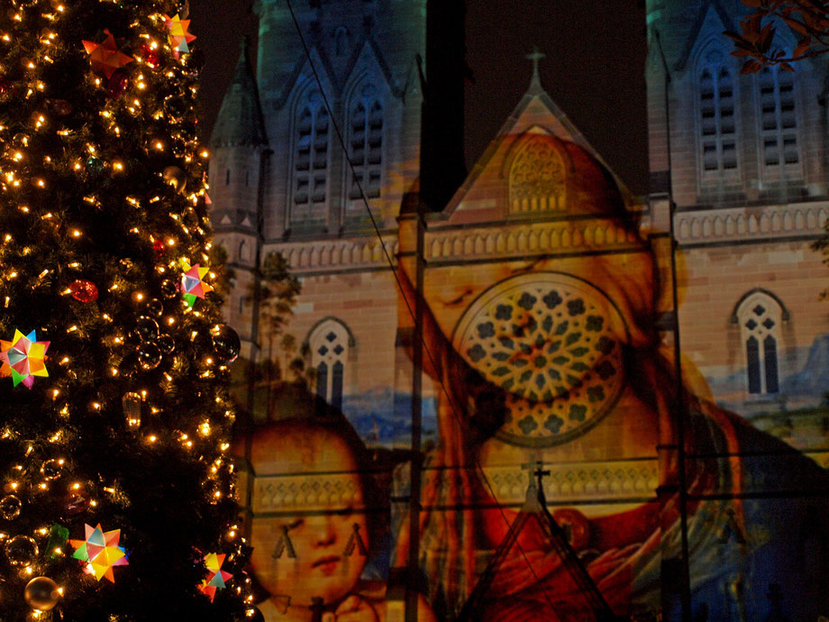 Sydney, St.Mary's Cathedral, Christmas 2015