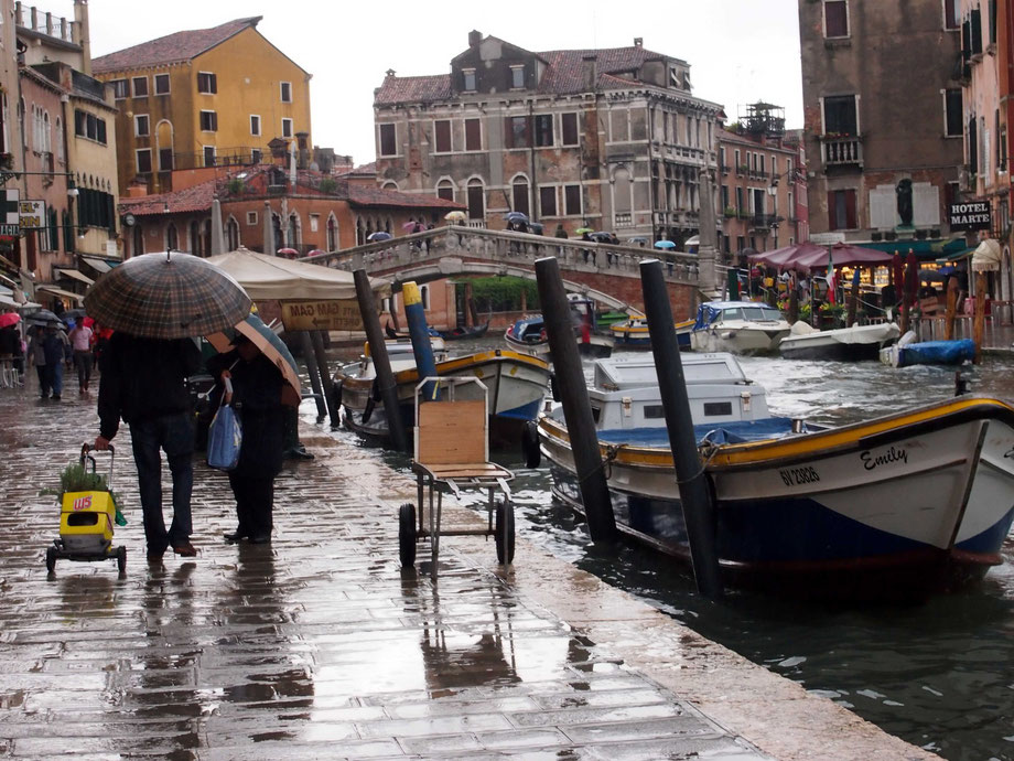 Rain in Cannaregio, Venice I
