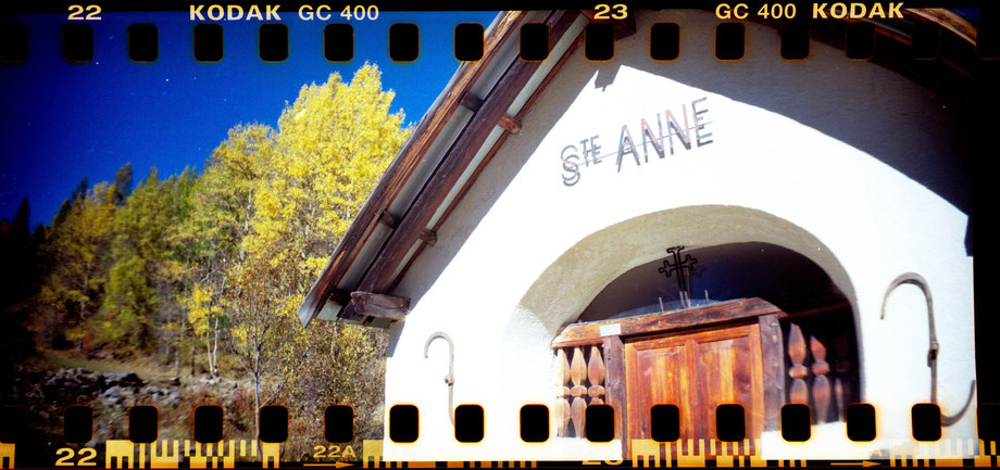 AUTUMN IN THE ALPS 2014 (with Lomography Sprocket Rocket camera)