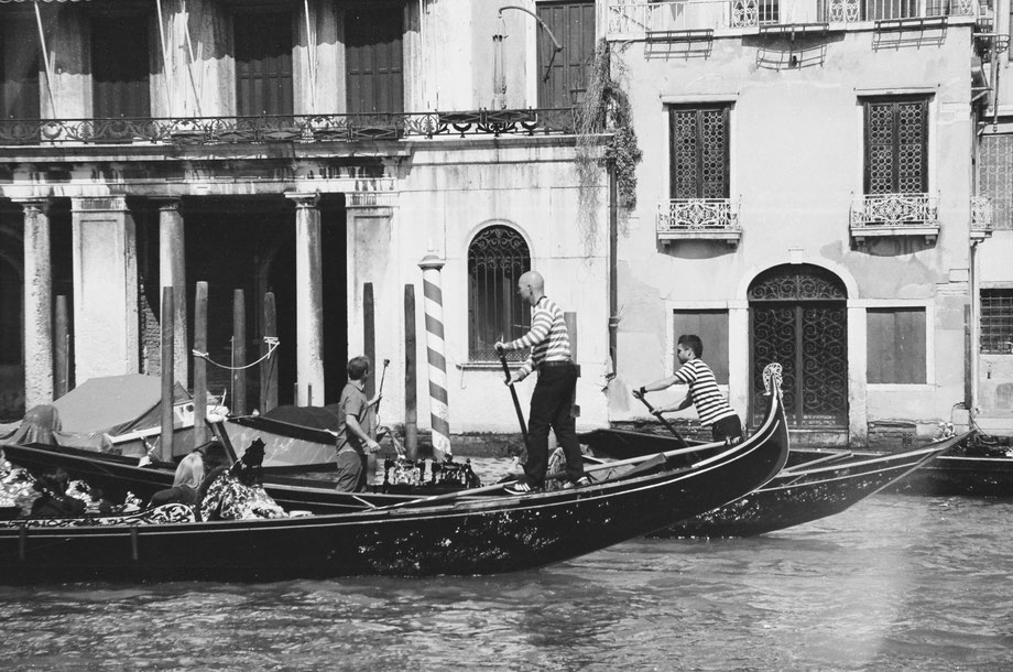Canal Grande (with Minolta Riva 105 and Ilford 400 b/w film)
