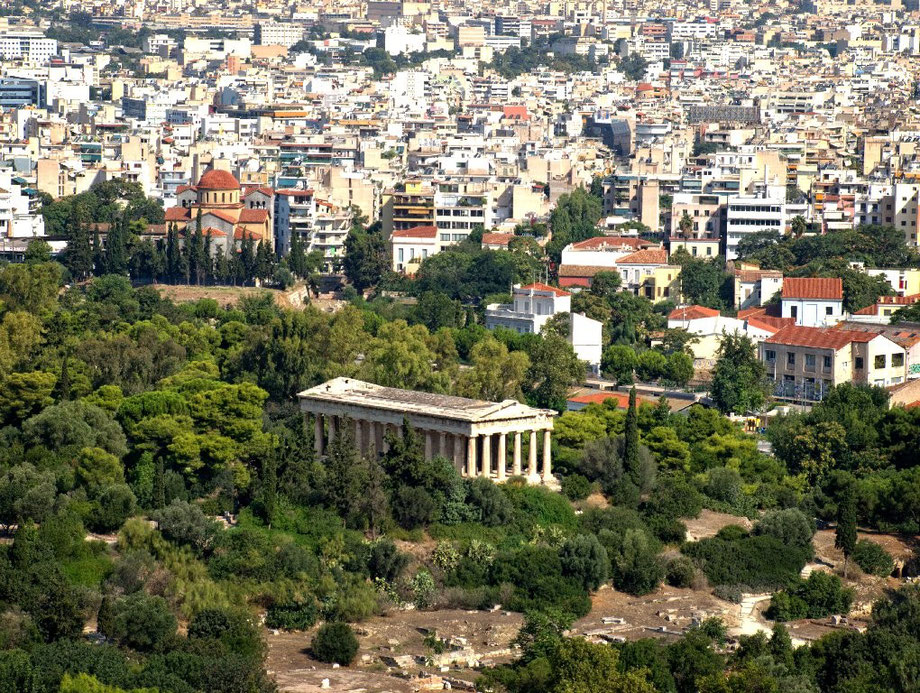 Athens: ancient and modern III (Ancient Agorà)