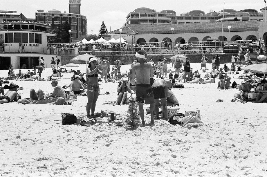 Christmas in Bondi Beach, Sydney