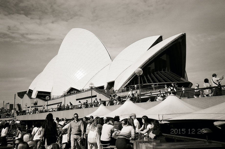 Opera House III (with Leica C1 and Ilford 400 XP2 Super Film)