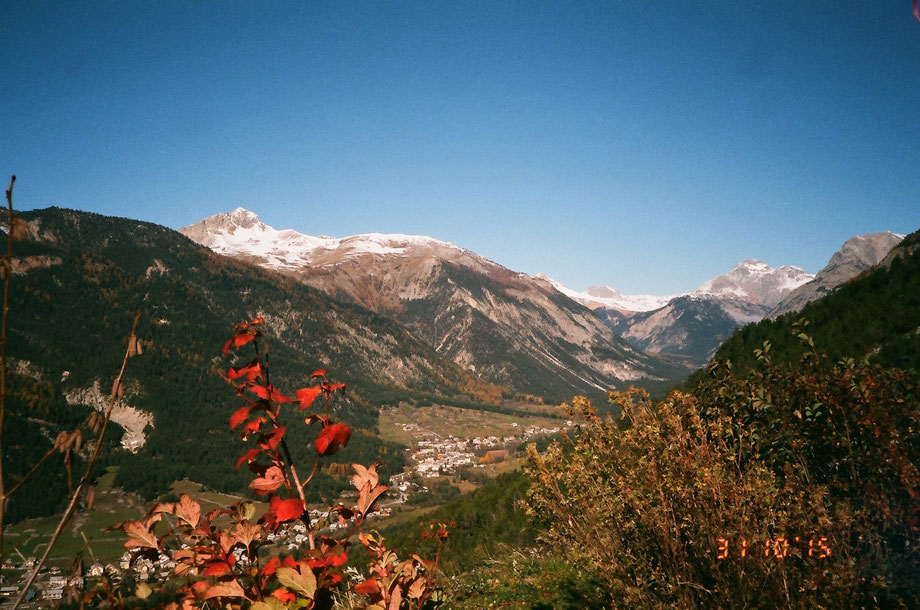 Autumn in the Alps, Vallée Clarée, France (with Leica C2 Zoom and Agfa Vista Plus 200 film)