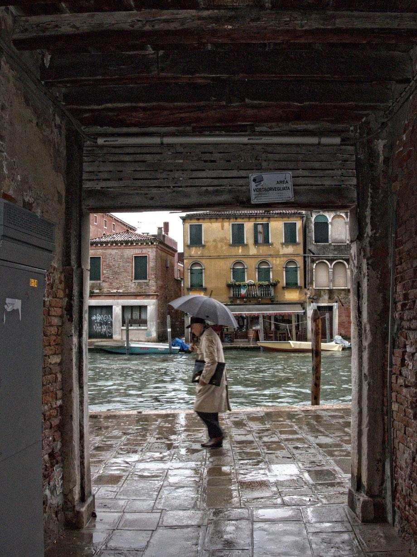 Rain in Cannaregio, Venice IV