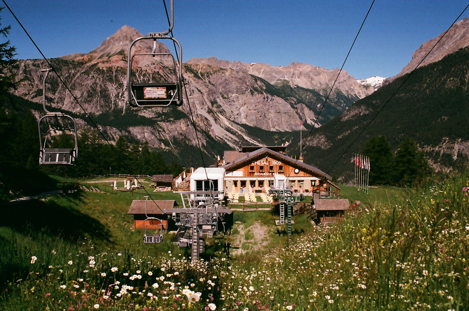Melezet, Bardonecchia, Località Chesal, Summer 2016 (with Olympus OM101 and Agfa Vista Plus 400 Film)