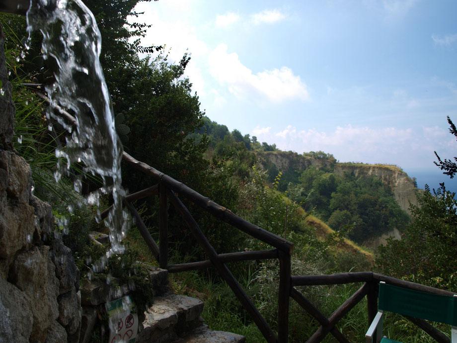 Ischia, Fonti Nitrodi II, all'origine dell'acqua termale