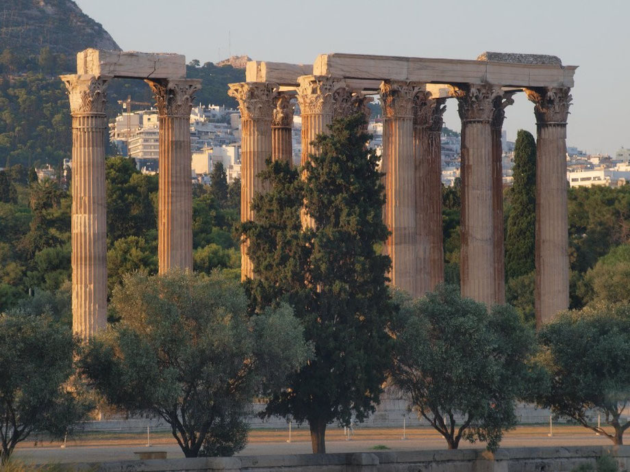 Temple of Zeus II, Athens