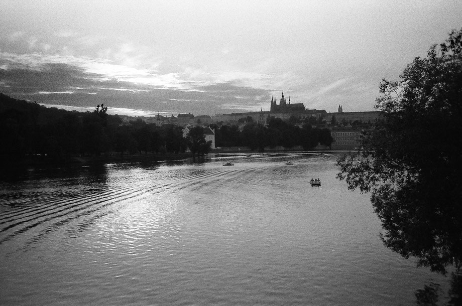 Prague (with Lomo LC-A and Ilford 3200 film)
