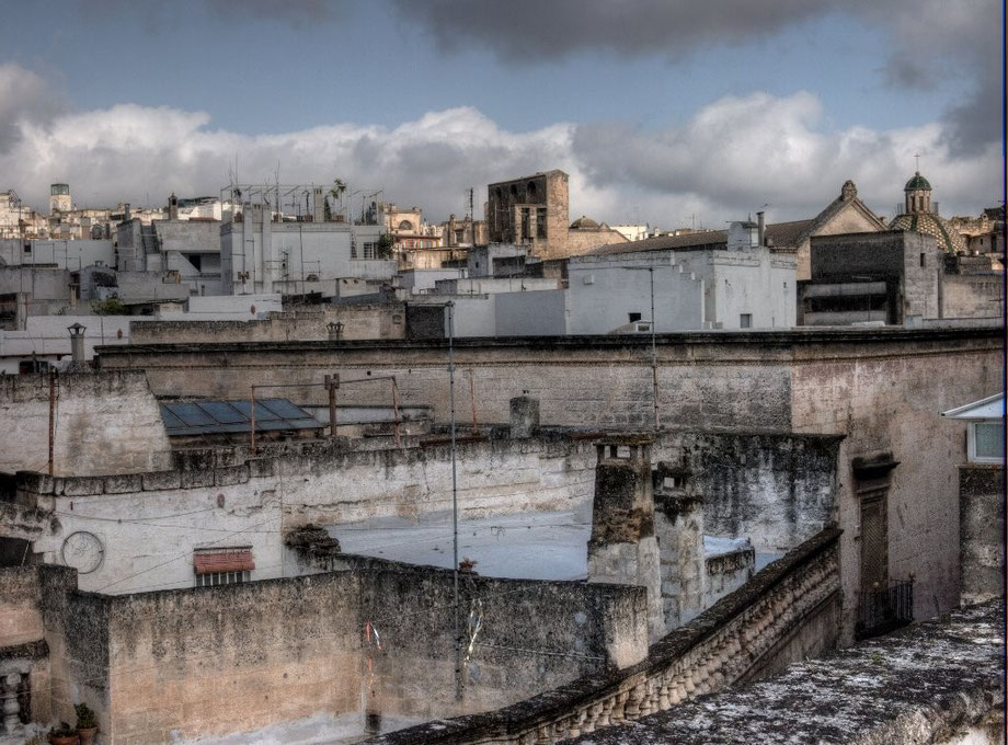 From the roof of Grottaglie (Taranto)