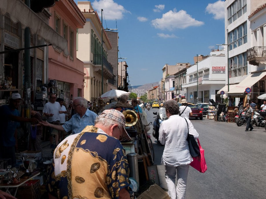 Athens' market