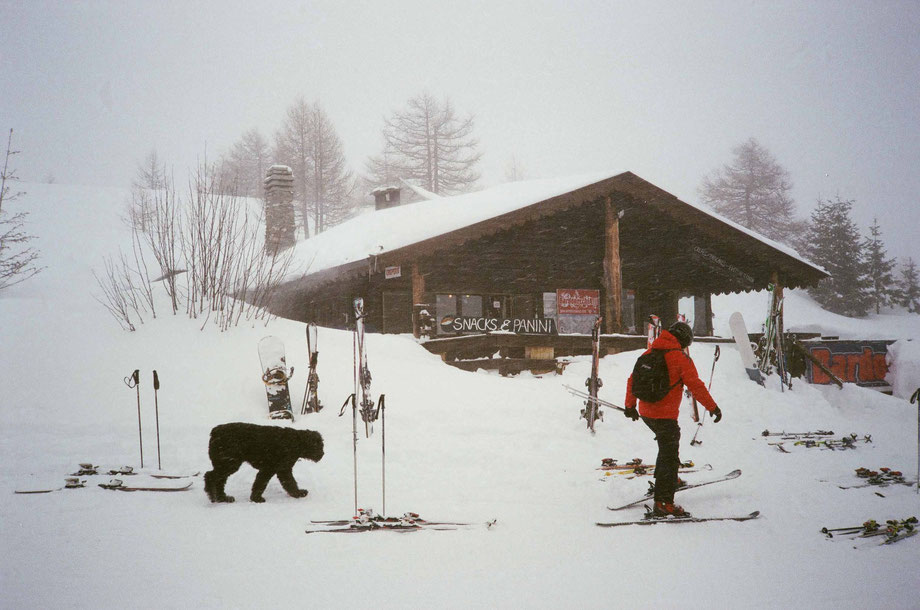 Punta Colomion, Bardonecchia (with Minolta Weathermatic and Kodak Ultramax 400 film)
