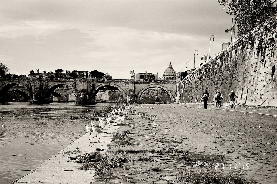 Rome, Lungo Tevere (with Leica C2 Zoom)