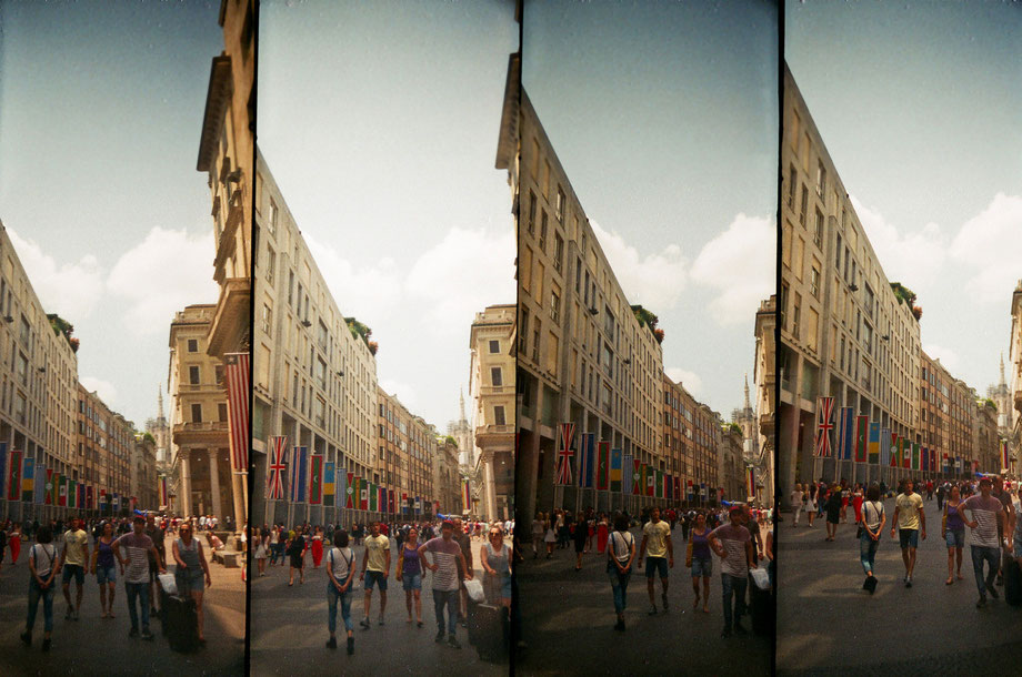 Milano II (with Lomography Supersampler Camera)